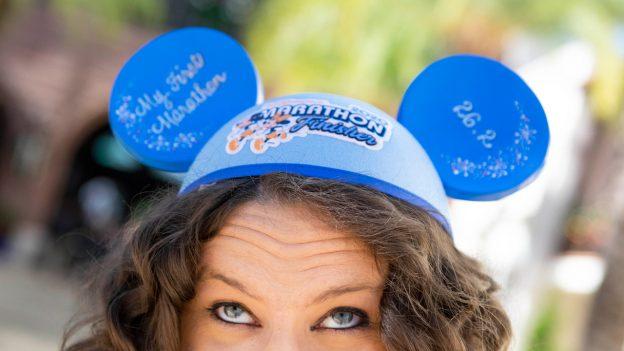 2020 Walt Disney World Marathon Weekend Merchandise at Disney Springs - Personalized Ear Hat