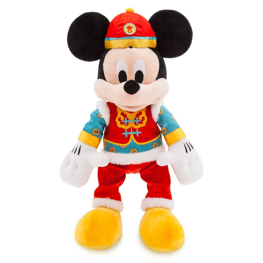 Mickey Mouse Lunar New Year Plush