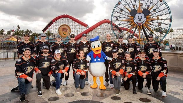 Disney and Anaheim Ducks Fans United at Anaheim Ducks Day