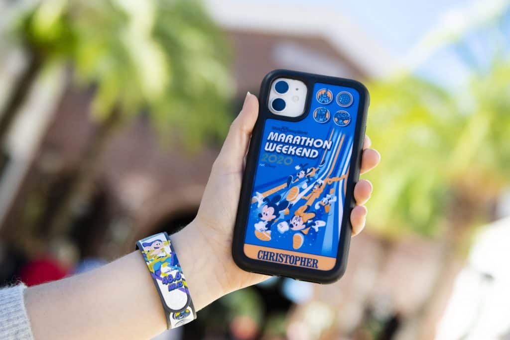 2020 Walt Disney World Marathon Weekend Merchandise at Disney Springs - Phone Case