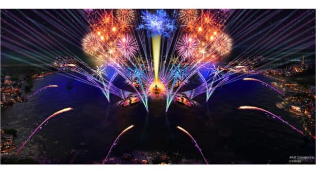 Rendering of 'Harmonious' coming to Epcot