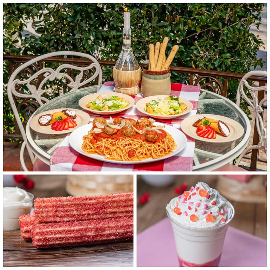 Disneyland After Dark: Sweethearts Nite food