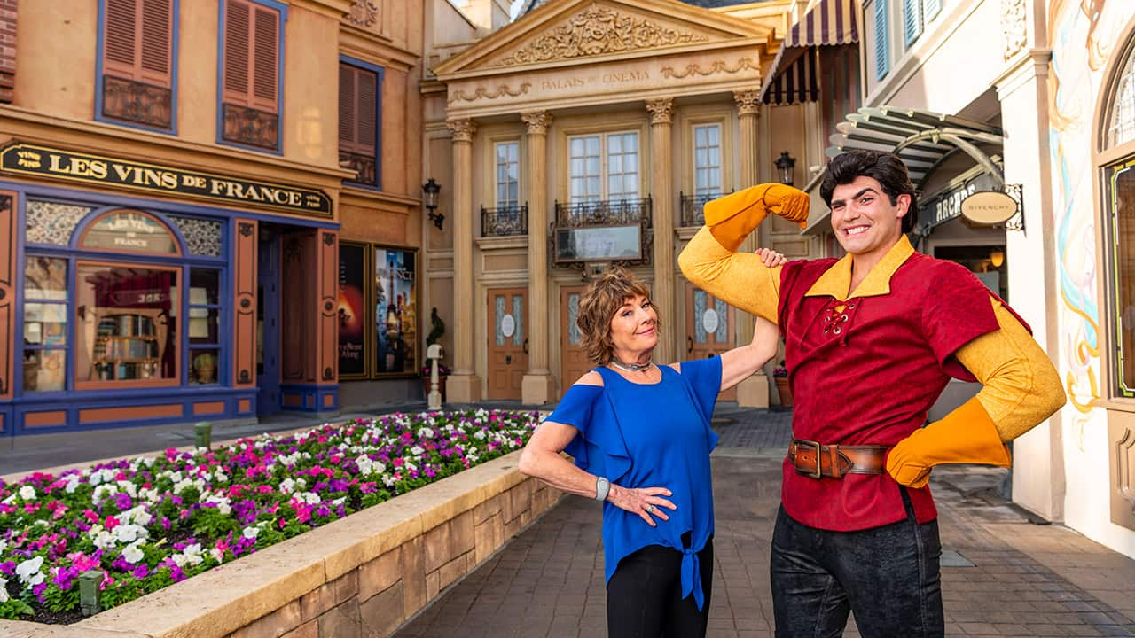 Paige O Hara Disney Legend And Voice Of Belle Surprises Guests At The Beauty And The Beast Sing Along Disney Parks Blog
