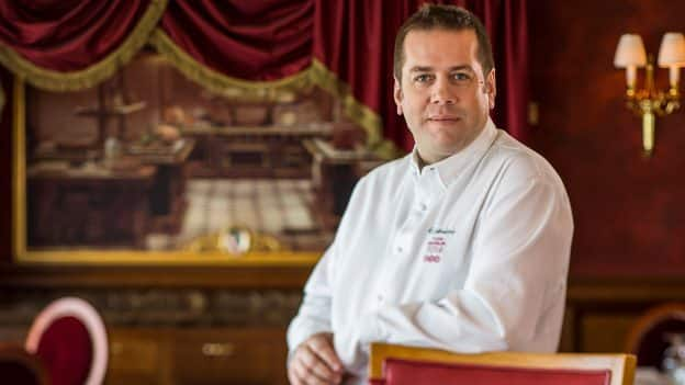 Chef Arnaud Lallement Honored as One of World's 10 Best chefs