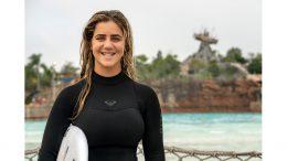 2020 Olympic Surfer Caroline Marks at Disney's Typhoon Lagoon