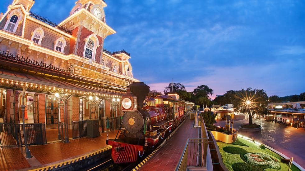 Train Station at Magi Kingdom Park
