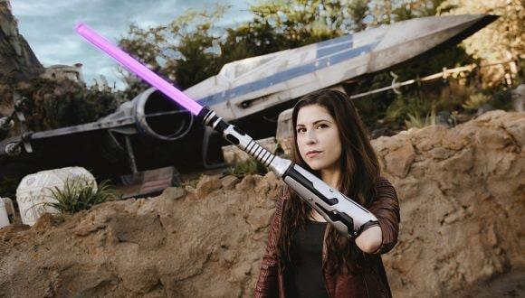 Angel in Star Wars: Galaxy's Edge