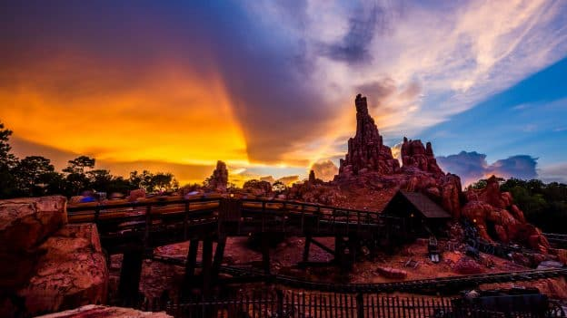 Big Thunder Mountain Railroad at Magic Kingdom Park