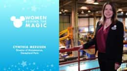 Women Behind the Magic: Cynthia Meeusen, Director of Maintenance, Disneyland Paris