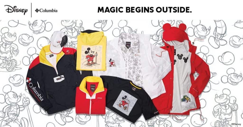 Disney x Columbia Collection
