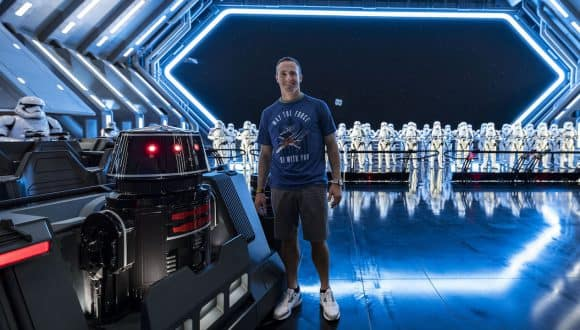 Drew Brees Experiences Star Wars: Rise of the Resistance