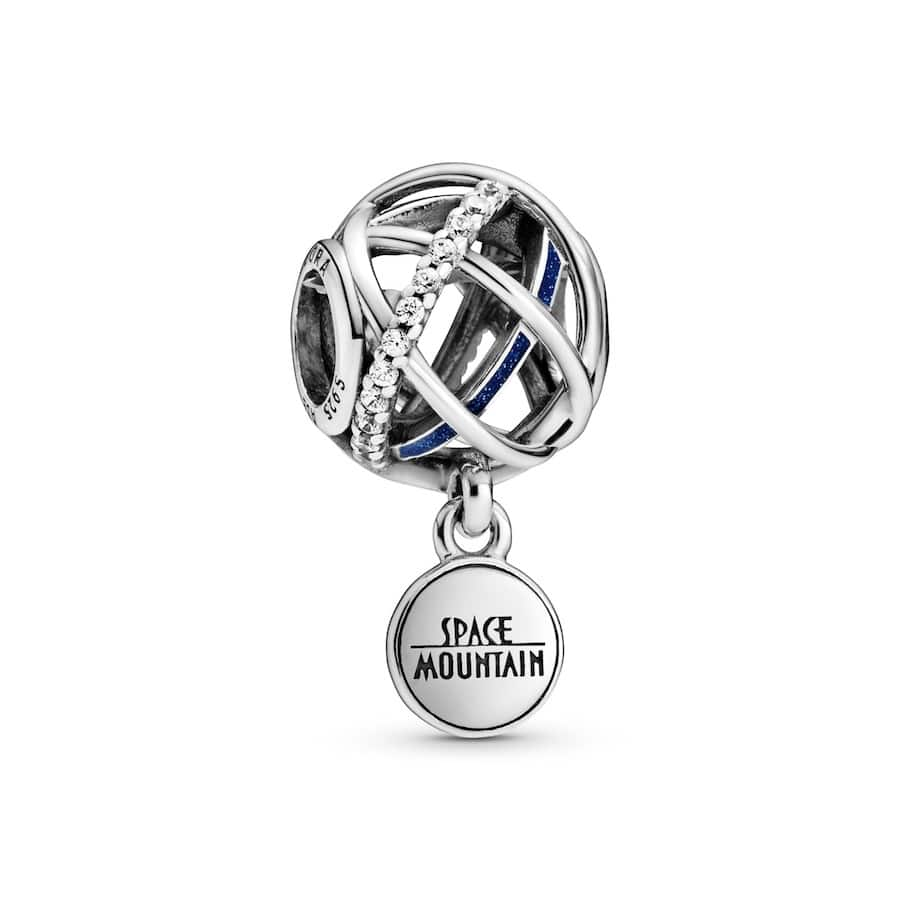 Space Mountain 45th anniversary charm