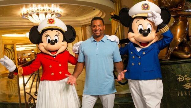 Alfonso Ribeiro Sets Sail with Disney Cruise Line