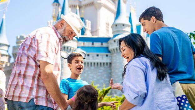 Family at Magic Kingdom Park