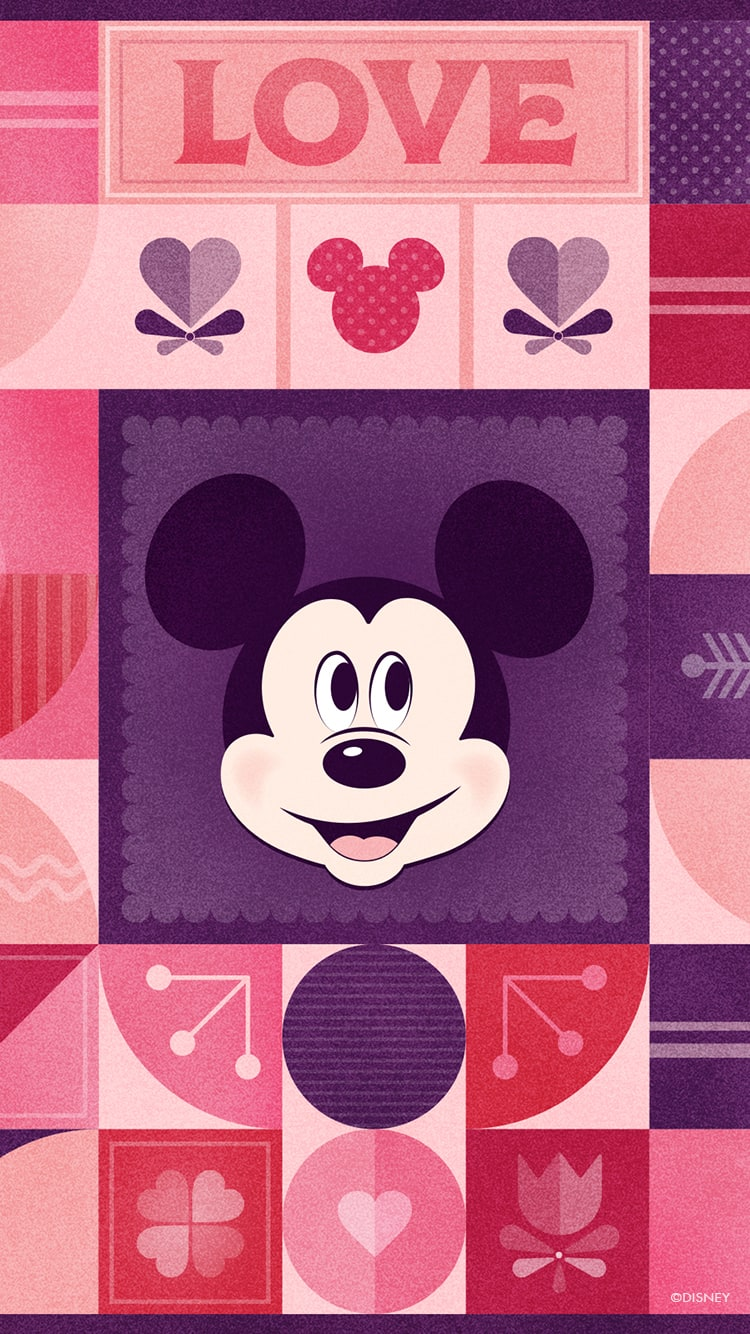 2020 Mickey Mouse Minnie Mouse Valentine S Day Wallpaper