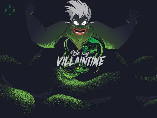 2020 Villaintine's Day Wallpaper – Desktop/iPad | Disney ...