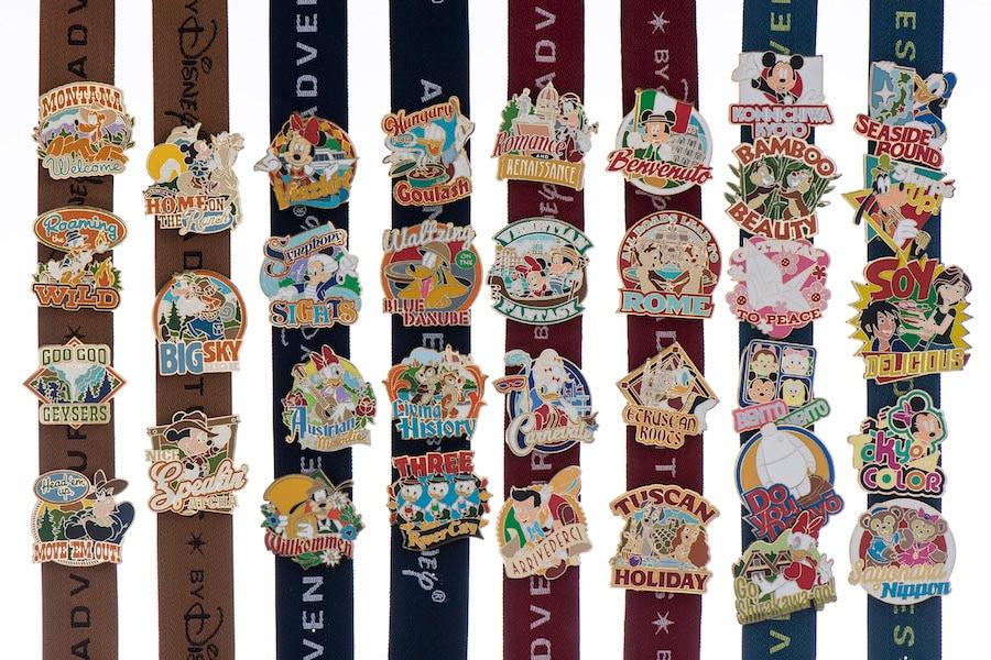 Adventures by Disney pins