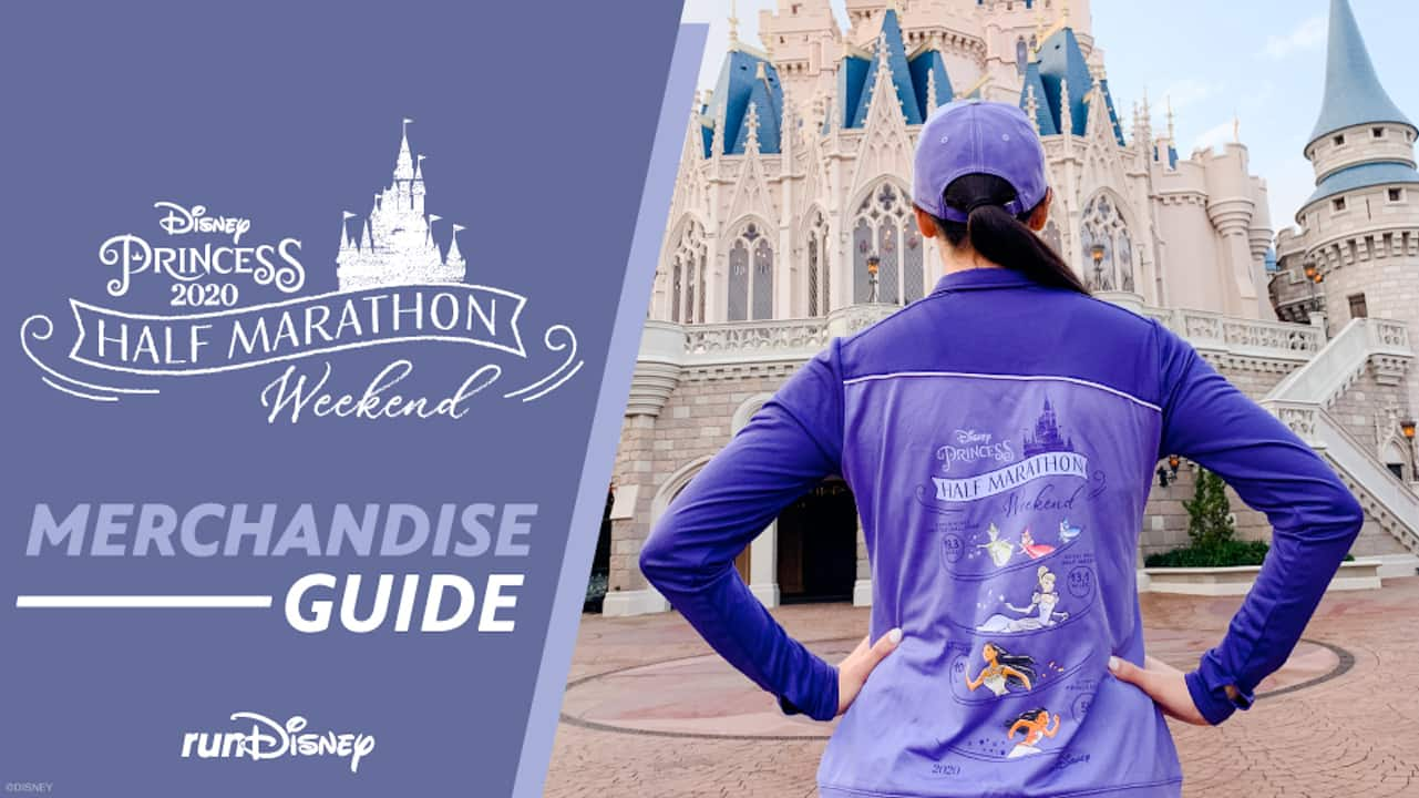 An Enchanting Set of Merchandise for the 2020 Disney Princess Half Marathon Weekend thumbnail