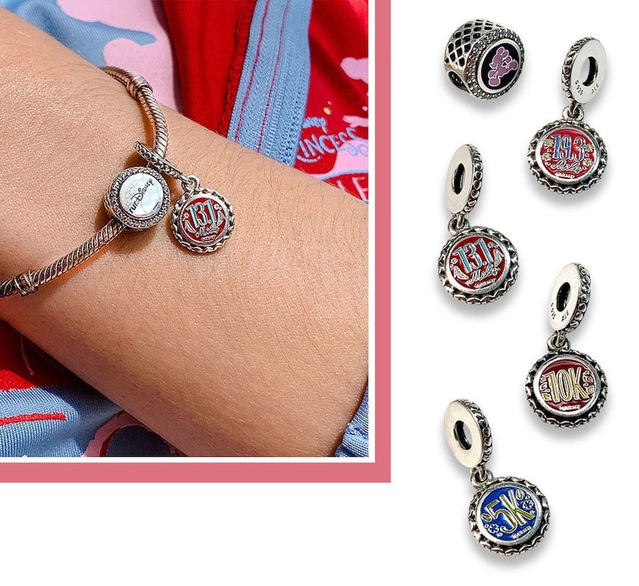 2020 Disney Princess Half Marathon Weekend charms