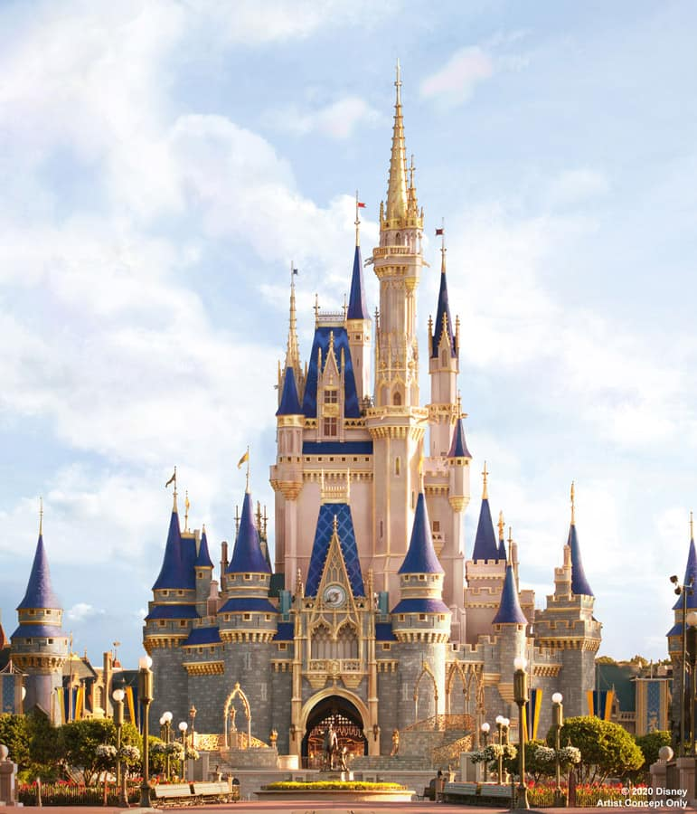 Cinderella Castle at Disney World to Receive Royal Makeover