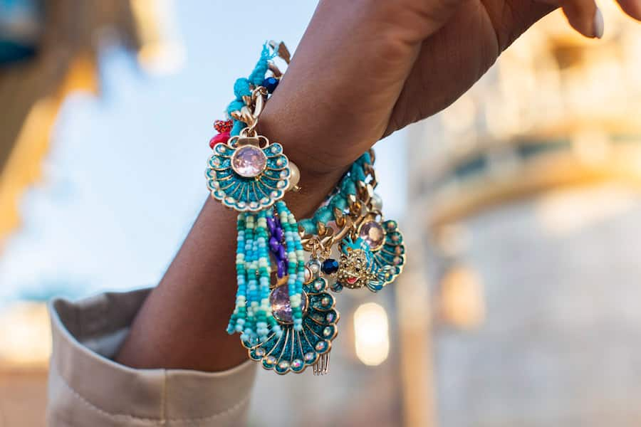 """The Little Mermaid""-Inspired bracelet by Betsey Johnson"