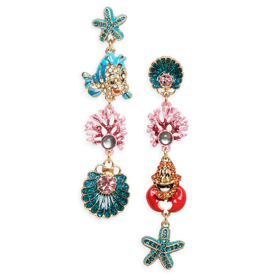 """The Little Mermaid""-Inspired Earrings by Betsey Johnson"