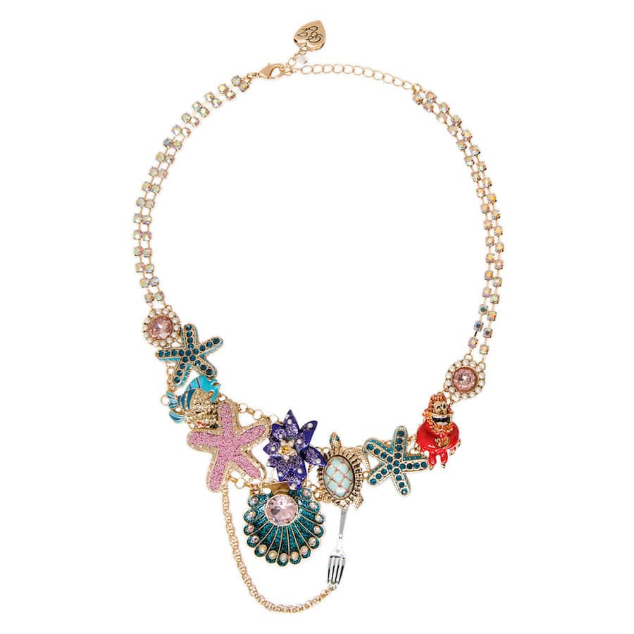 """The Little Mermaid""-Inspired necklace by Betsey Johnson"
