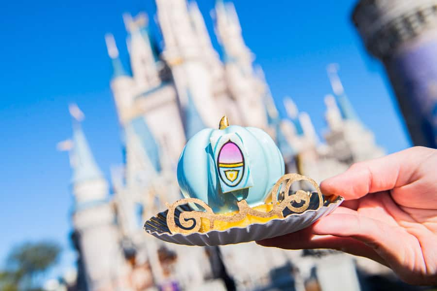 Bibbidi-Bobbidi-Boo Cake from Main Street Bakery at Magic Kingdom Park