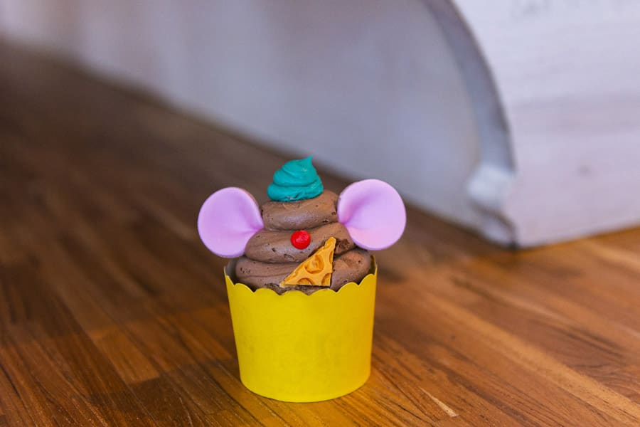 Greedy Gus Gus Cupcake from Disney's All-Star Resorts