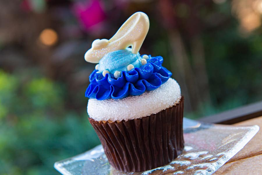 Cinderella Cupcake from Capt. Cooks and Kona Coffee Bar at Disney's Polynesian Village Resort