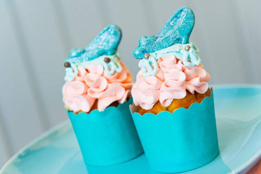 Cinderella Slipper Cupcake from Disney's Port Orleans Resorts