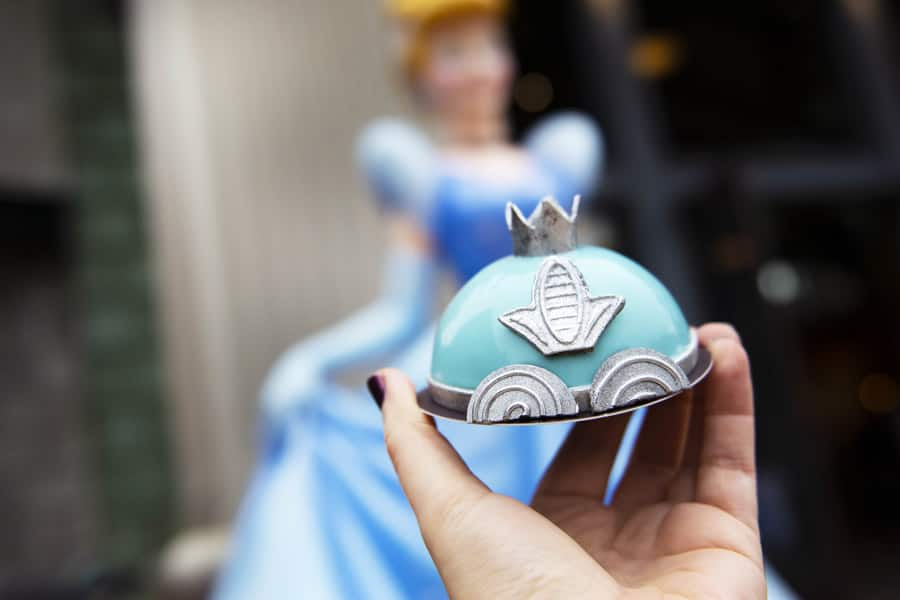 Cinderella's Carriage Mini Dome Cake from Amorette's Patisserie at Disney Springs