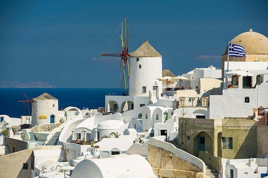 Disney Cruise Line - Santorini