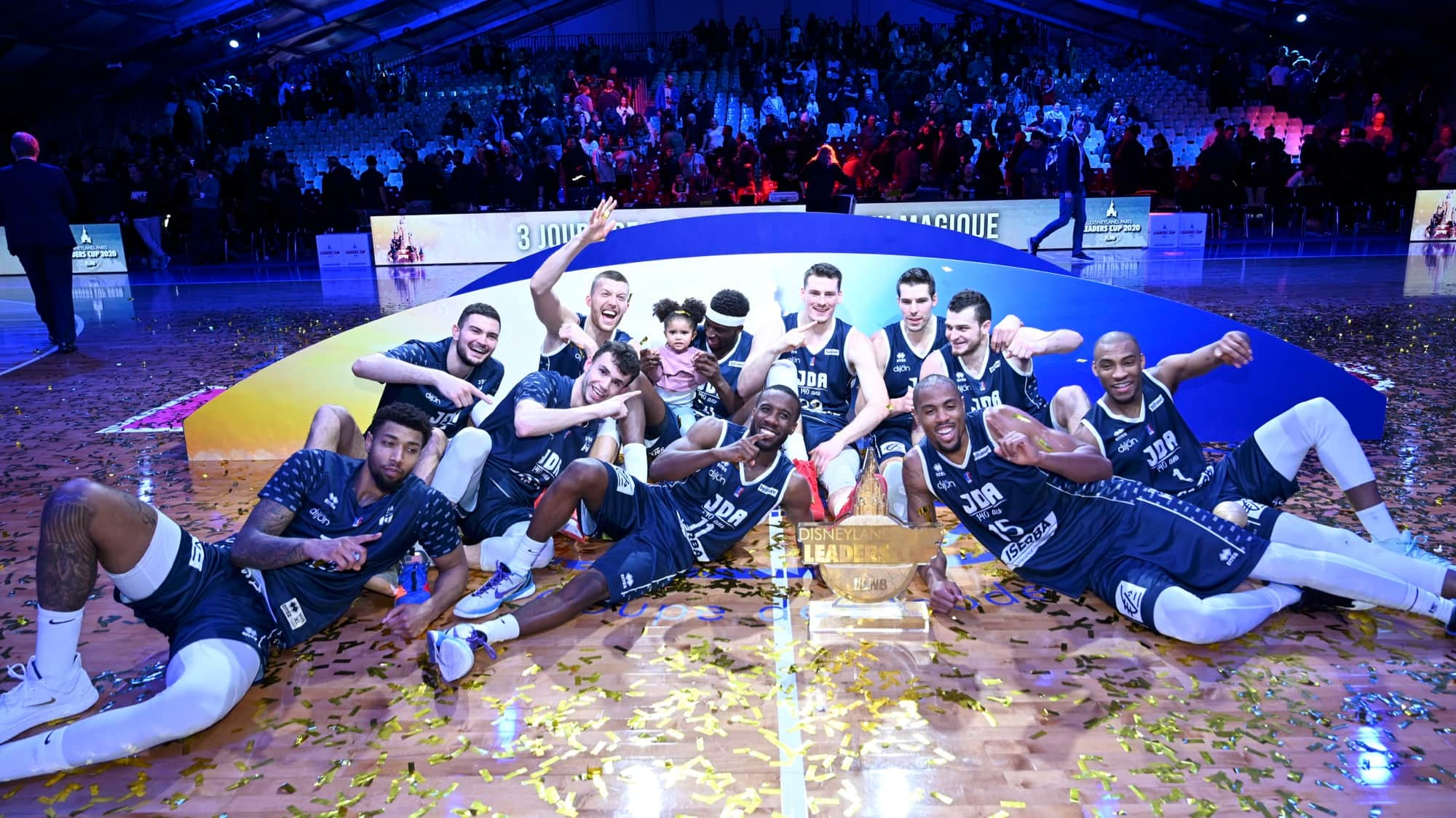Basketball Fans Enjoy Exclusive Disneyland Paris Leaders Cup Tournament thumbnail