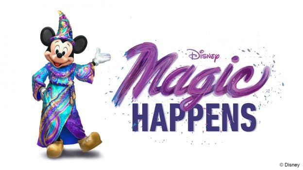 Disney Magic Happens Logo