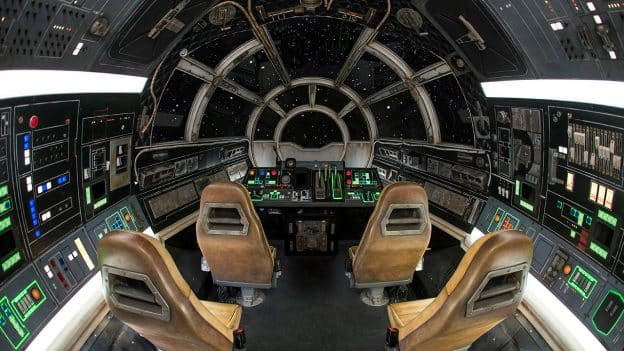 Millennium Falcon: Smugglers Run at Disneyland park