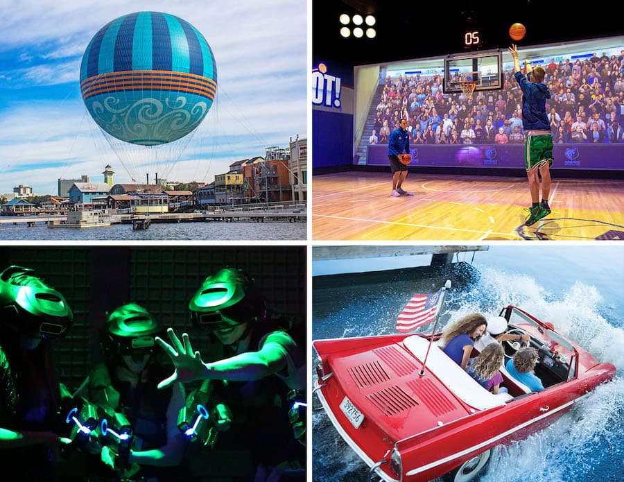 Entertainment options for Valentine's Day at Disney Springs