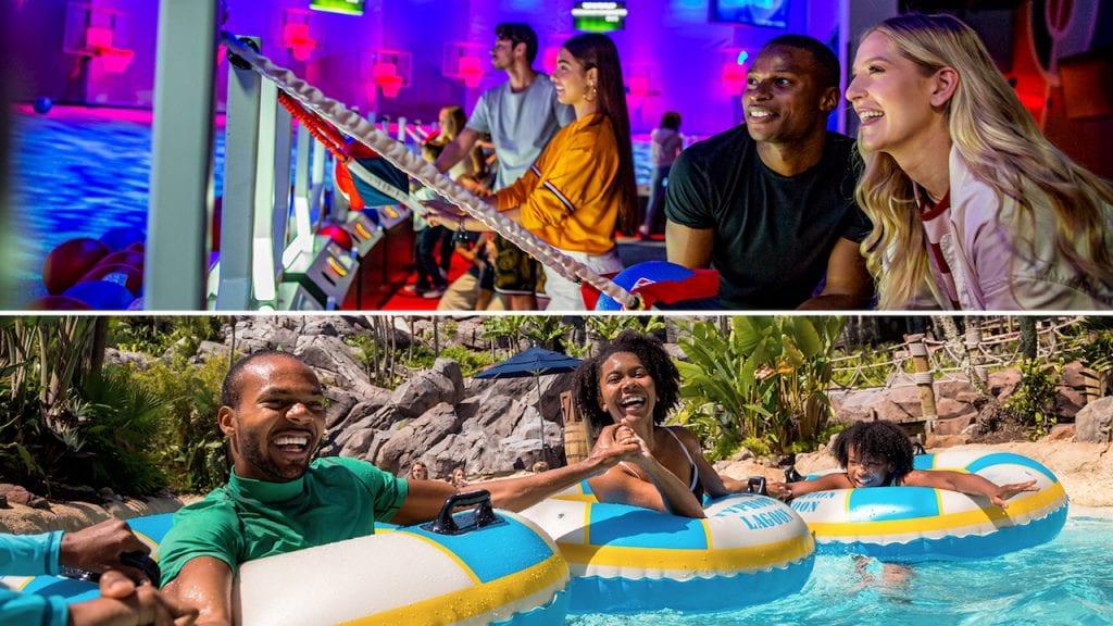 Collage of families at Walt Disney World Resort