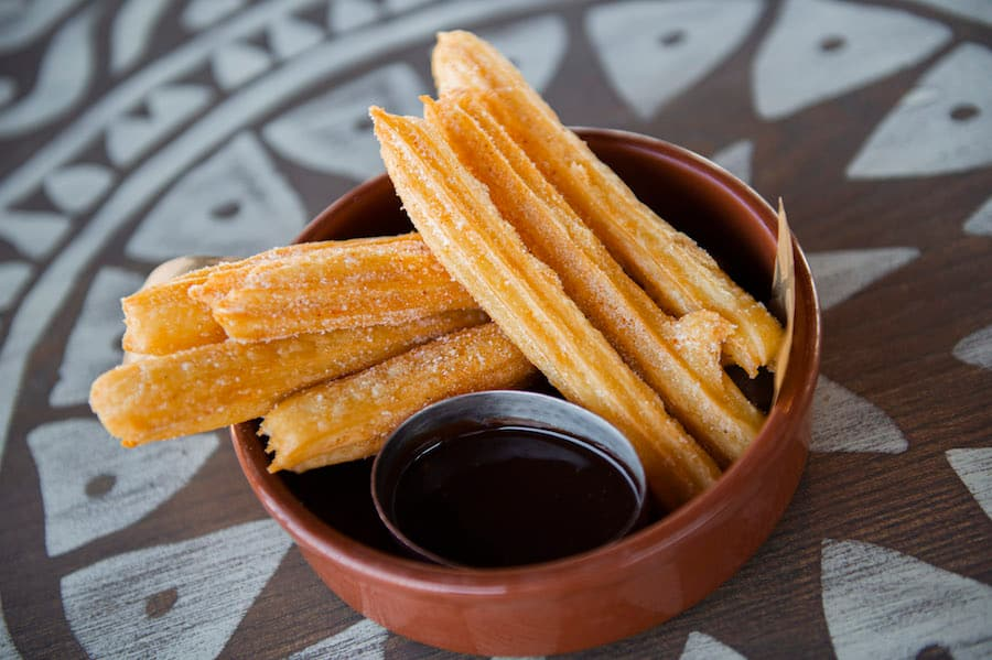 Gluten-Free Churros from Three Bridges Bar & Grill at Disney's Coronado Springs Resort