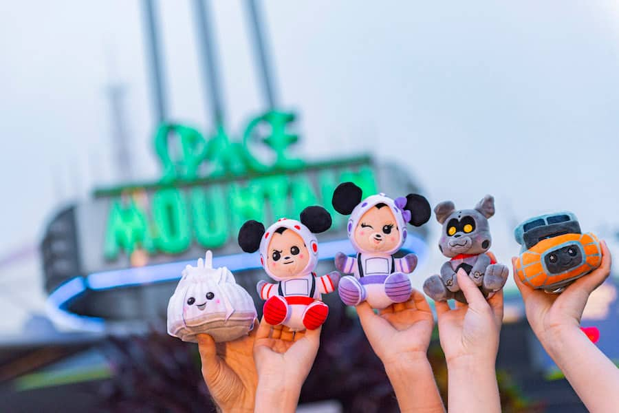 Newest Wishables Collection Inspired by Disney Parks Classic Space Mountain