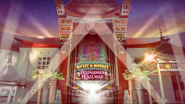 Rendering of Mickey & Minnie Runaway Railway