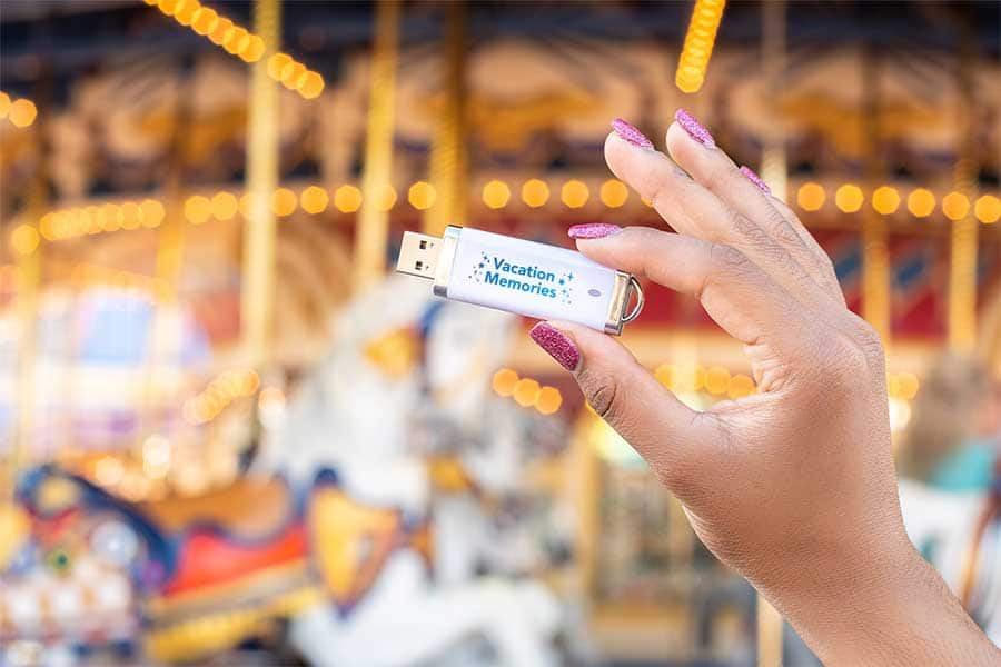 Easily Access, Store All of Your Magical Disney World Memories with the Disney PhotoPass Archive USB