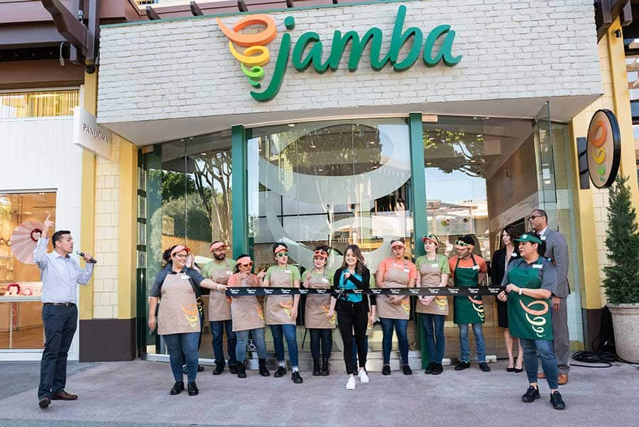 Jamba Re-Opens in the Downtown Disney District, Disneyland Resort