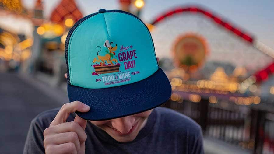 Exclusive apparel, part of the Disney California Adventure Food & Wine Festival.