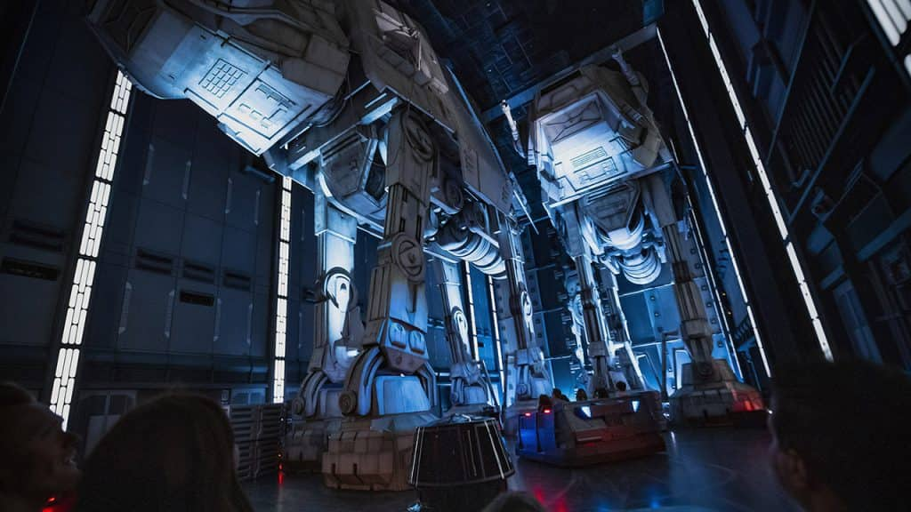 AT-AT Walkers in Star Wars: Rise of the Resistance