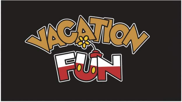 """Vacation Fun"" logo"