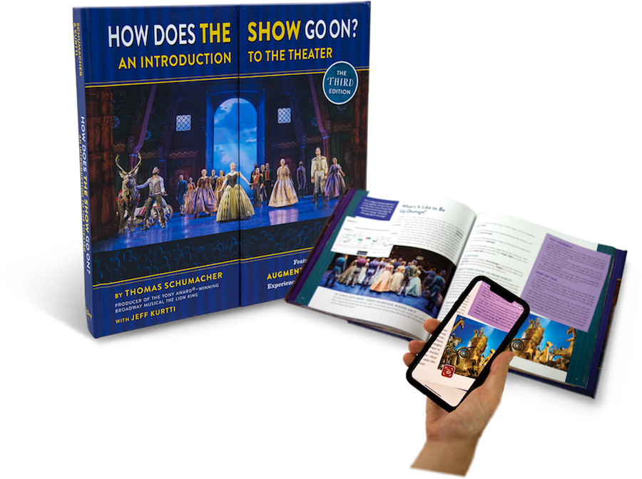 "An innovative ""augmented reality"" feature is a part of the education and entertainment contained in this remarkable book. © Disney"