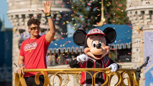 Super Bowl LIV MVP Patrick Mahomes Spends a Magical Day