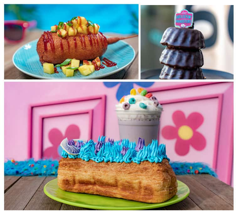Limited-time food offerings at Disneyland After Dark -Pixar Nite