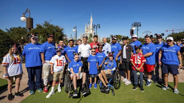Make-A-Wish Kids at Walt Disney World Resort after Super Bowl LIV